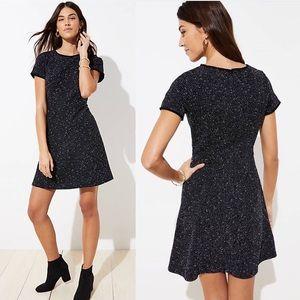 [Loft] Tweed Flare Dress